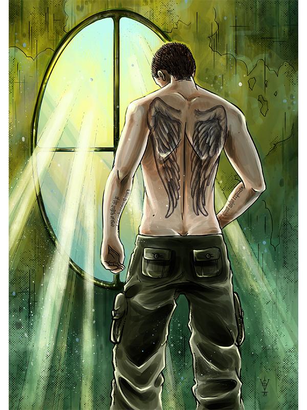 Liam - Character artwork by Atlantisvampir